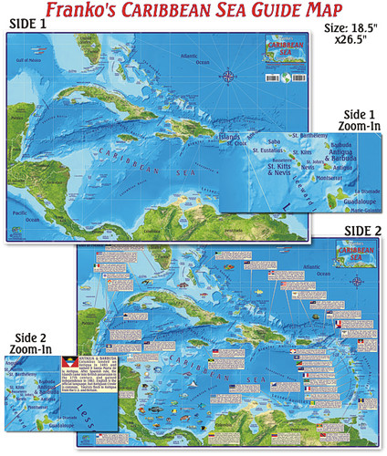 Caribbean Sea Guide (folded)