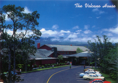 P445 - Volcano House Postcard 50 Pack