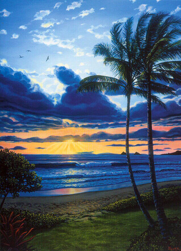 Kailua Bay Aglow - Notecard 6 Pack