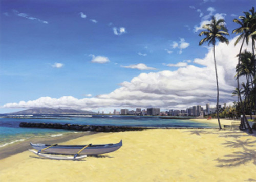 Warm Sands of Waikiki - Notecard 6 Pack