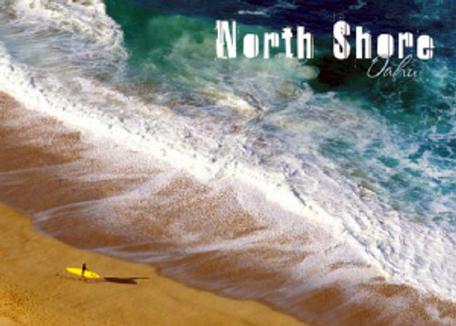 North Shore Surfer 5x7 Postcard 25 Pack