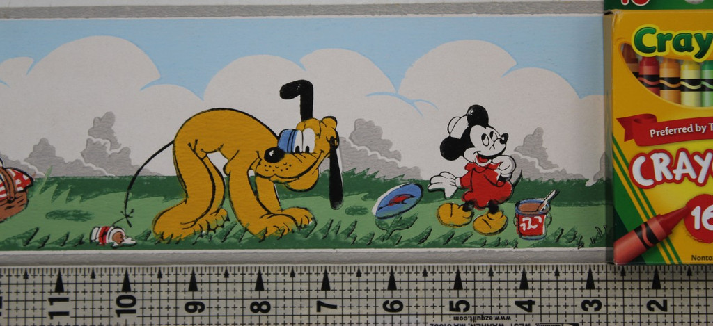 Dex Vintage Wallpaper Border Disney Mickey and Minnie