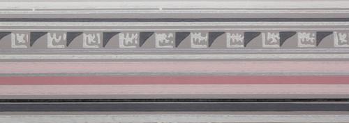 Trimz Vintage Wallpaper Border Grecian Pink
