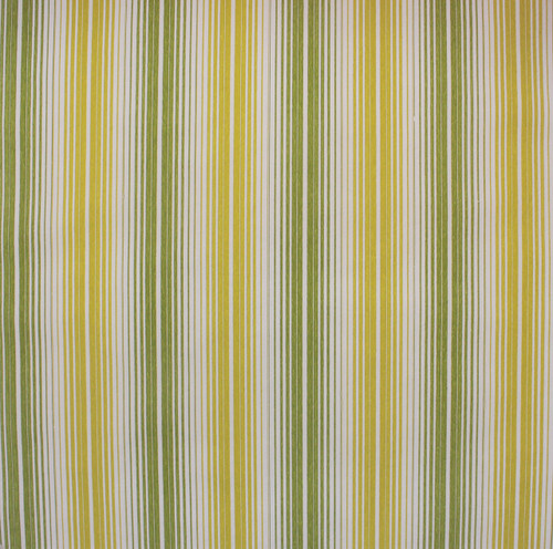 1970s Vintage Wallpaper Green and Chartreuse Stripe