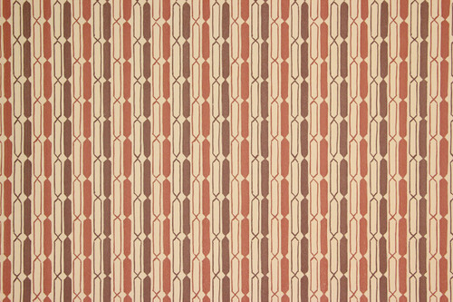 1970s Retro Vintage Wallpaper Brown Beige Geometric