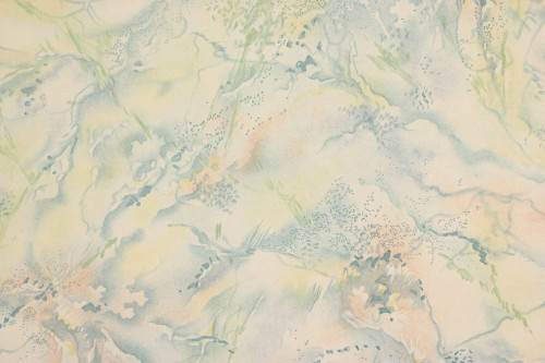 1930s Vintage Wallpaper Faux Blue Marble