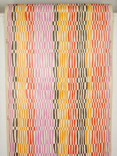 1970s Retro Vintage Wallpaper Geometric Stripes