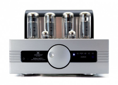 Synthesis Roma 96DC Integrated Valve Amplifier Aluminium