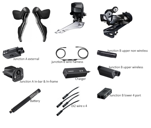 shimano dura-ace r9150 di2 upgrade kit