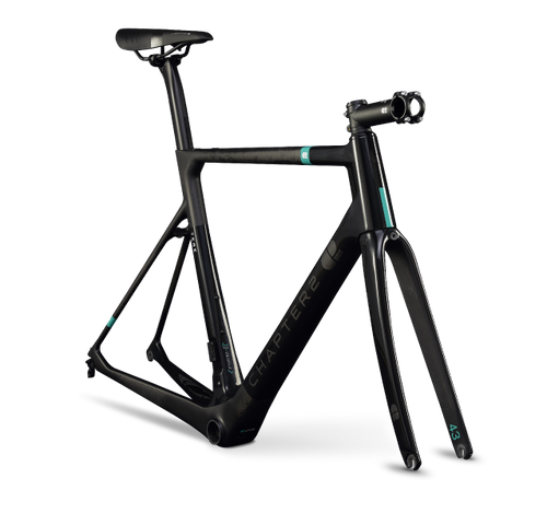 Chapter2 Tere Disc Brake Frameset Black Matte & Gloss