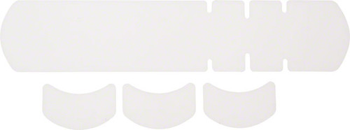 Lizard Skins Adhesive Bike Protection Large Frame Protector: Clear