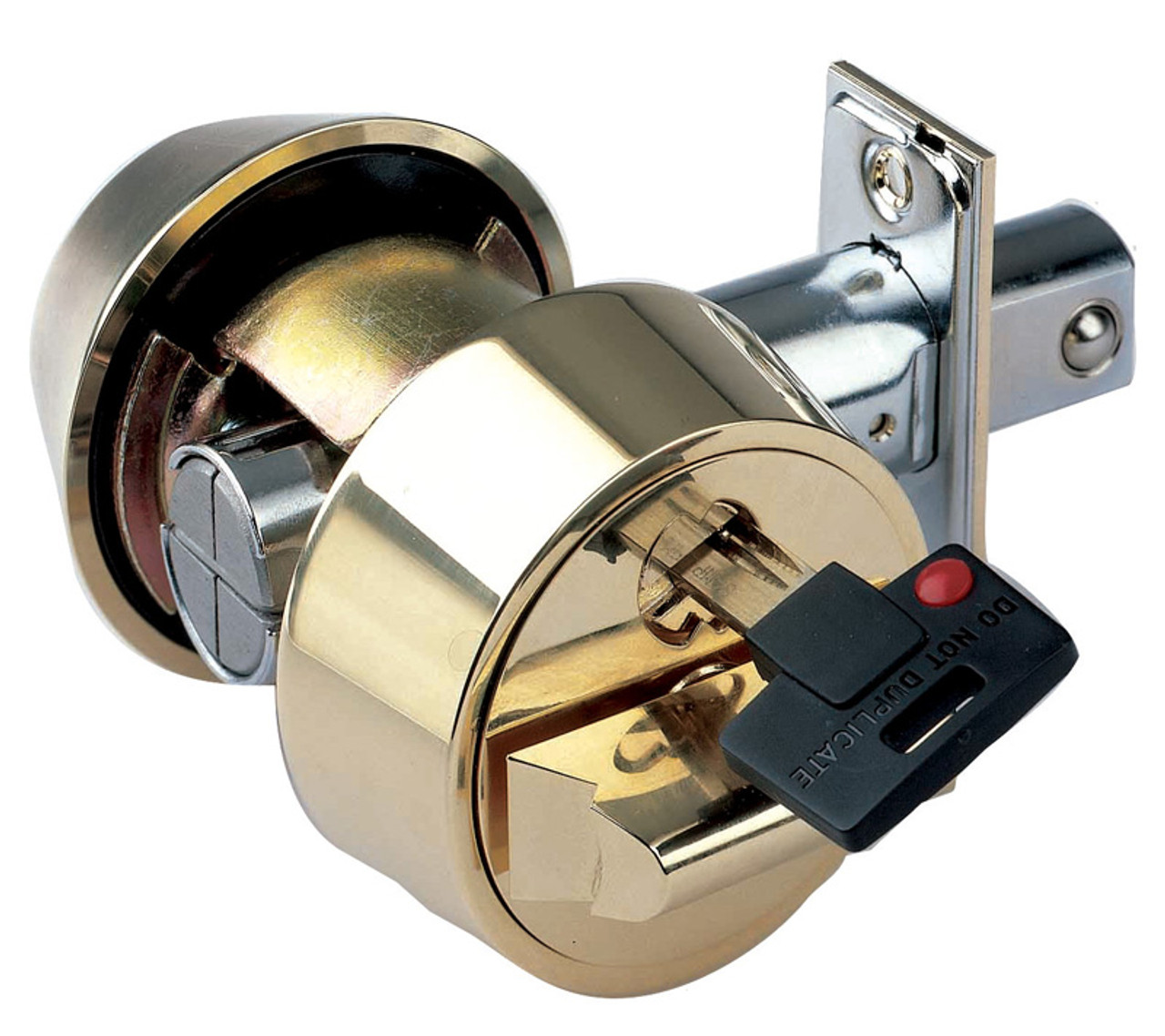 how to change a double cylinder deadbolt lock