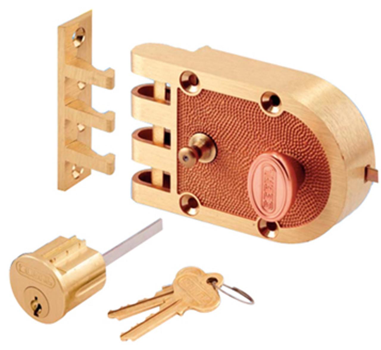 Segal Single Cylinder Jimmy Proof Interlocking Slam Lock