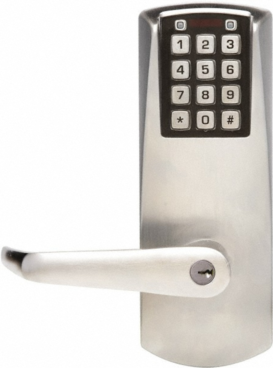 schlage electronic locks. Kaba E-Plex E2000 Series E2031XS-LL Schlage Key Override Electronic Lock Satin Chrome Locks