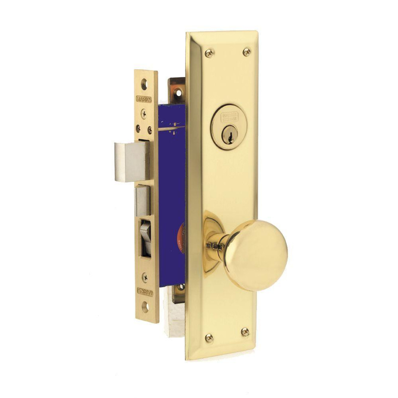 Marks Metro Mortise Lockset 91a 3 X 1 1 4 Quot X 8 Quot Faceplate