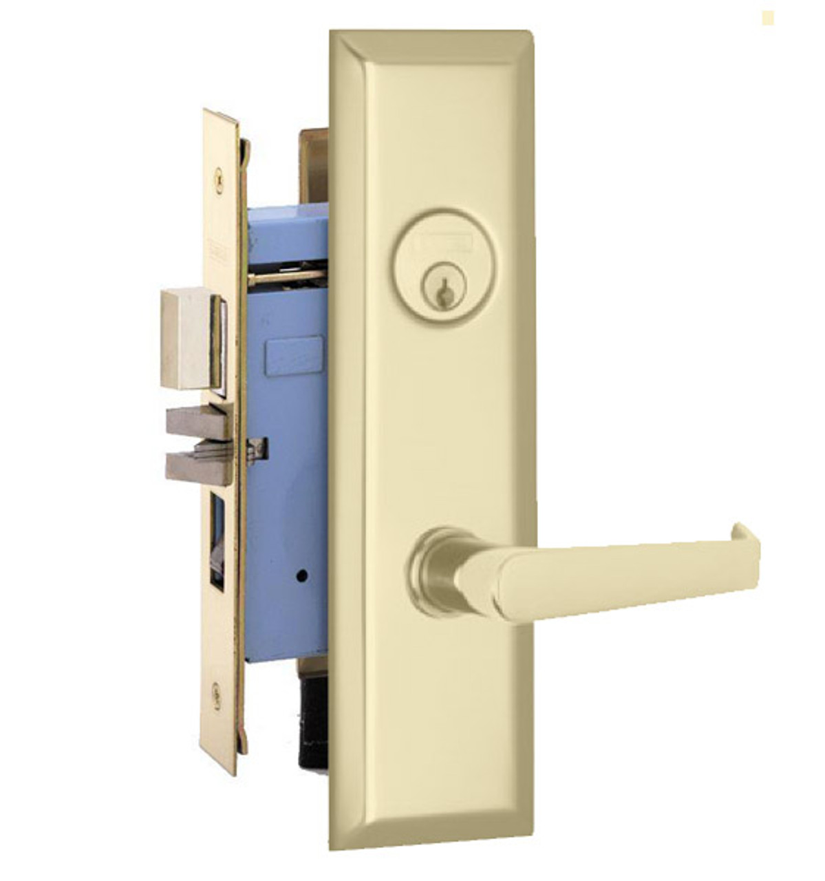 Marks Lock 9NY92 New Yorker Lever Plate Design For Apartment Entrance and Vestibule Door  sc 1 st  ED Locks u0026 Security & Marks Lock 9NY92 New Yorker Lever Plate Design For Apartment ...