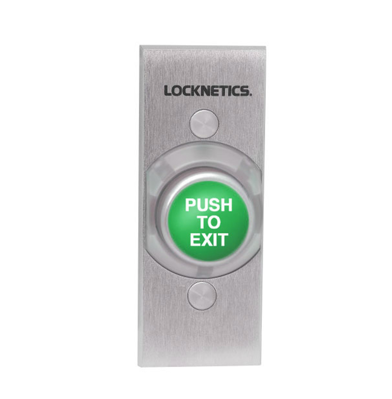 Locknetics By Schlage 621gr Ex Ns Heavy Duty Exit Pushbutton