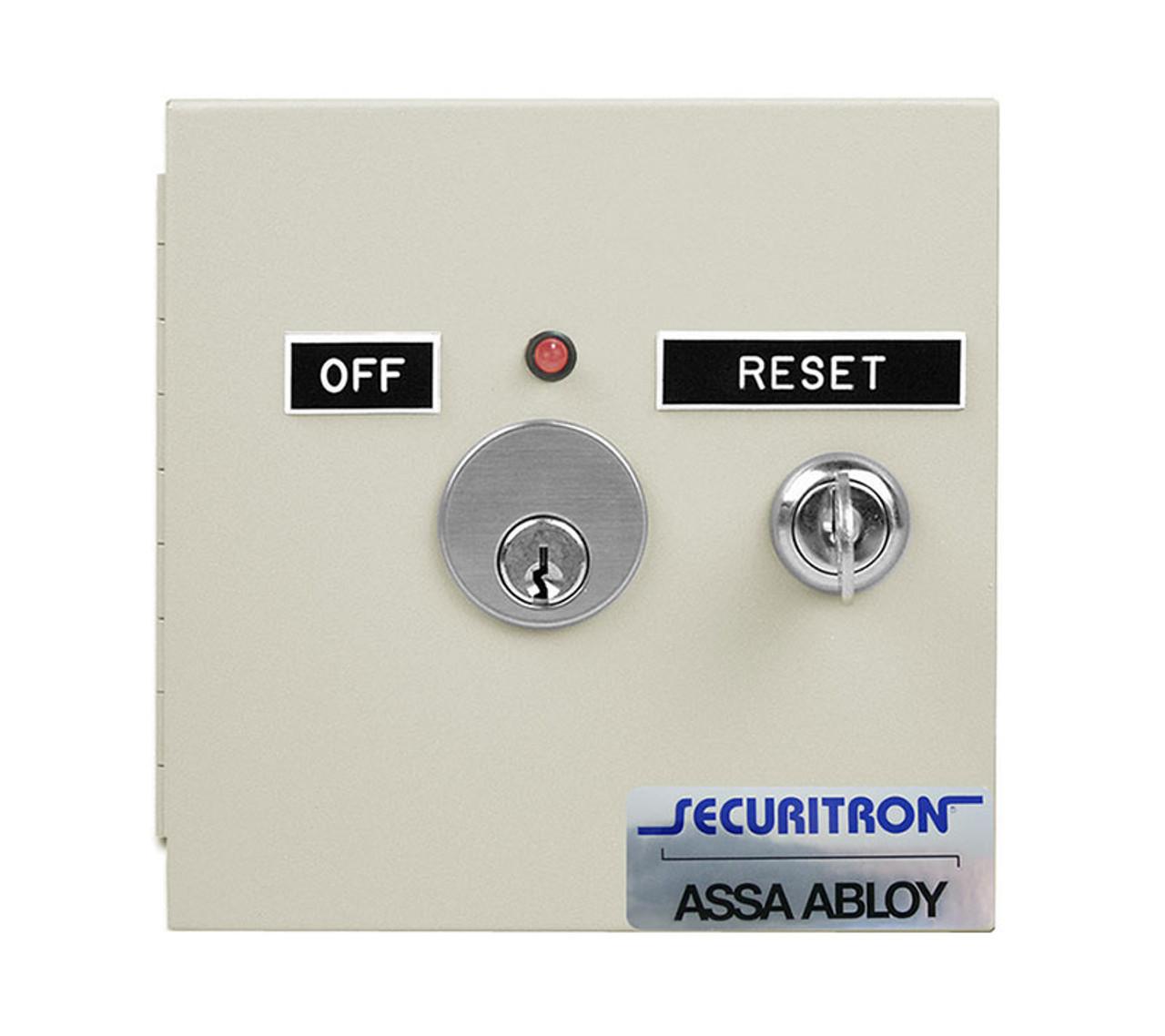Securitron Far 12 12vdc Fire Alarm Reset