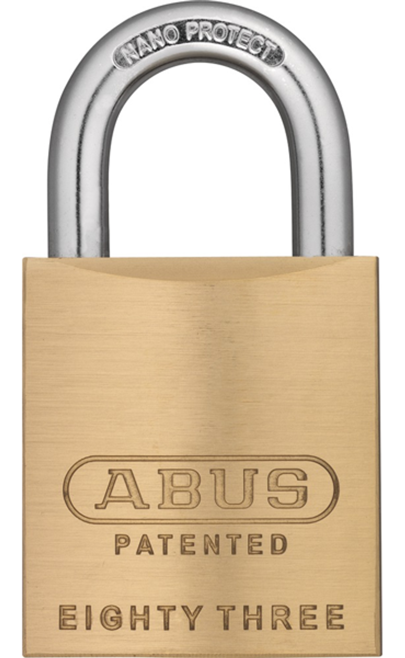 Abus 83 45 300 Brass Rekeyable Padlock Schlage Sc1 Keyway