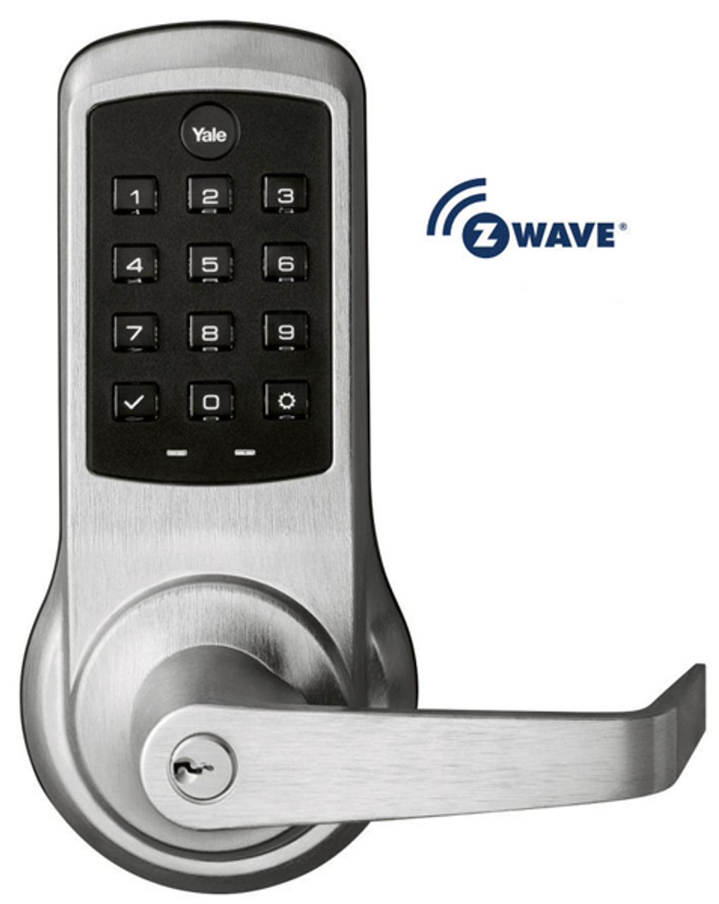 Yale Nextouch Au Ntb630 Zw2 626 Z Wave Pushbutton Lock