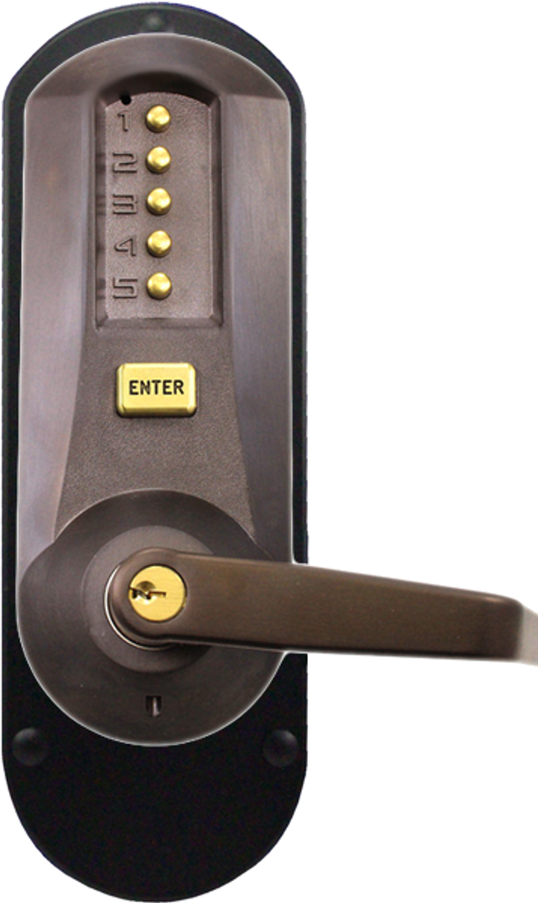 Kaba Simplex 5010xswl 744 41 Mechanical Pushbutton Lever