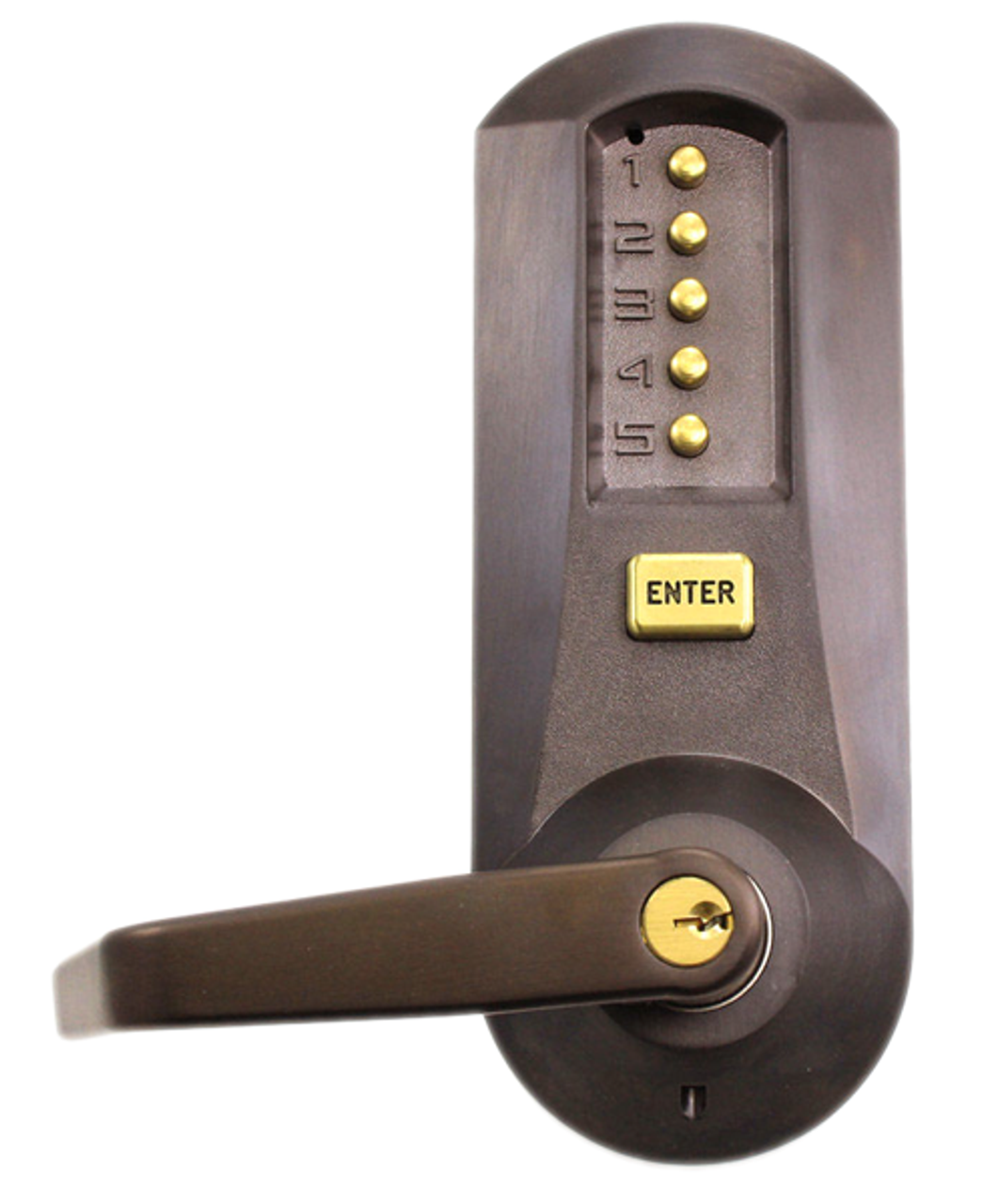 Kaba Simplex 5021xswl 744 41 Mechanical Pushbutton Lever
