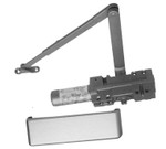S. Parker Hardware 441BC Multi-Size Grade 1 Door Closer Aluminum Finish