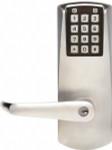 Kaba E-Plex E2000 Series E2031XS-LL Schlage Key Override Electronic Lock Satin Chrome