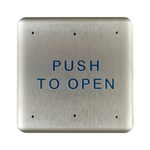 "Bea 10PBS 4.75"" Push To Open Square Push Plate"