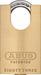 ABUS 83CS/45 Brass Rekeyable Concealed Shackle Padlock Schlage SC1 Keyway