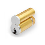 6300 LA 15 KA Sargent LFIC Core LA Keyway Keyed Alike Satin Nickel