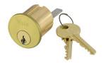 Yale 1109 6 GA 606 KD Rim Cylinder 6-Pin GA Keyway Keyed Different