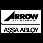 Arrow BM09 BRG 3 Double Dummy Mortise Trim BR Lever G Escutcheon