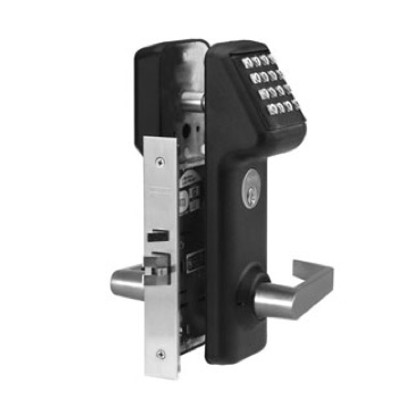 Marks USA IQ2 LITE i-QWIK LITE Stand Alone Mortise Lockset Electronic Access Control Black
