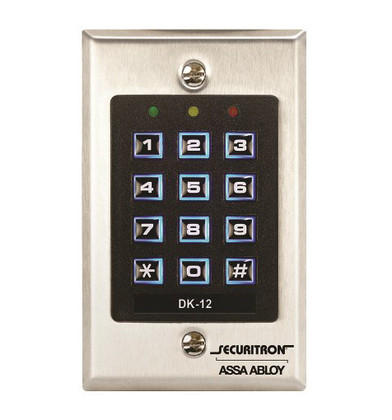 Securitron Dk 12 Digital Keypad System W Illuminated Keys