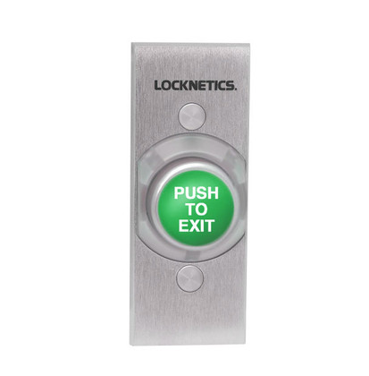 Locknetics By Schlage 621gr Ex Ns Heavy Duty Exit Pushbutton