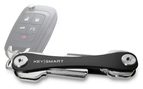 KeySmart Black Premium Pocket Key Organizer & Key Holder