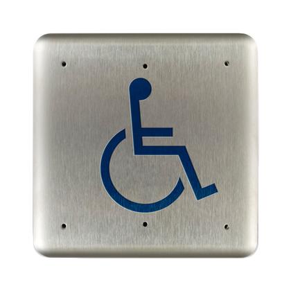 Bea 10pbsll 4 75 Quot Handicap Square Push Plate