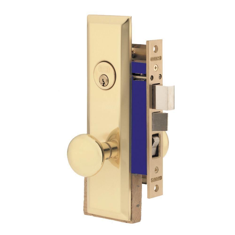 Marks Metro Mortise Lockset 114 Series