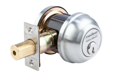 Medeco 14 Series Single Cylinder Deadbolt Grade 2 E D