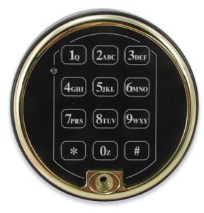 Sargent Amp Greenleaf 6120 211 Electronic Keypad Buffed Brass