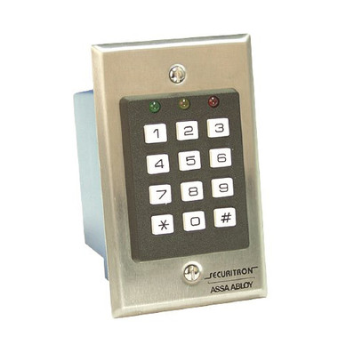 Securitron Dk 16w Weigand Digital Keypad System W Cpu Board