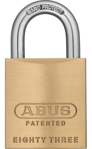 Abus 83 45 100 Brass Rekeyable Padlock Yale Y1 Keyway