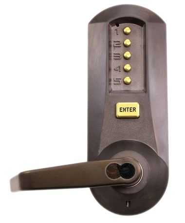 Kaba Simplex 5021cwl 744 41 Mechanical Pushbutton Lever