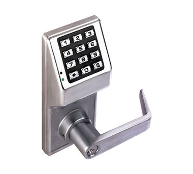 Alarm Lock Dl2700ic C Us26d Pushbutton Cylindrical Door
