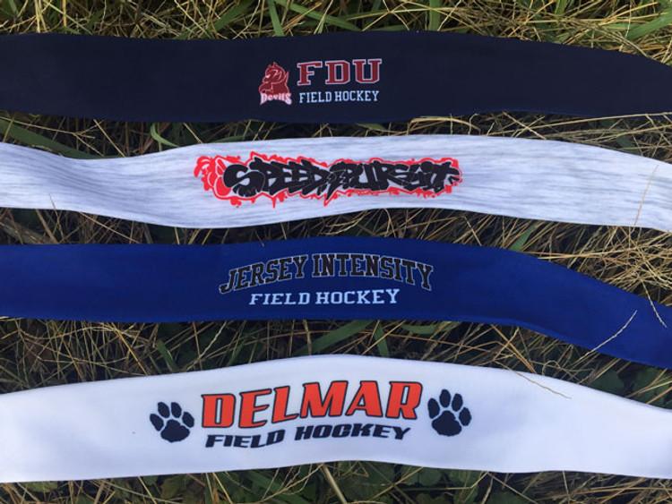 YOLO Custom Team Tie-Back Headbands