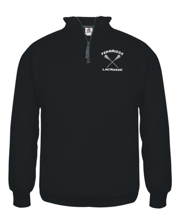 Pennridge Women's Lacrosse 1/4 Zip Sweatshirt
