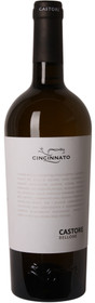 Cincinnato 2016 Castore Bellone Bianco 750ml