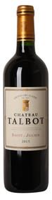 Château Talbot 2015, Saint-Julien 750ml