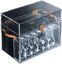 Taittinger 2005 Blanc de Blanc Display Box & 6 Glasses 750ml